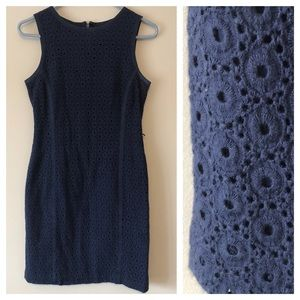 Talbots Cotton Eyelet Dress
